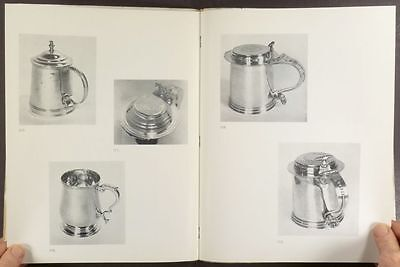 Antique American English European Silver - Newark Museum 1953 Exhibit Catalog