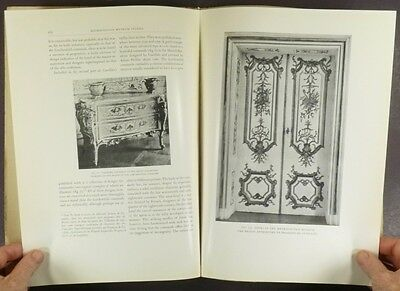 Antique 18th Century South German Painted Furniture & Woodwork -Met. Museum 1930