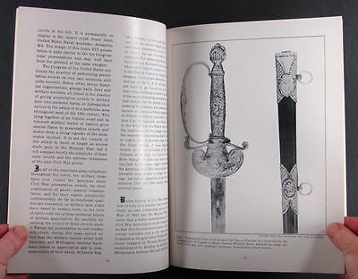 American 19th Century Presentation Swords in Private Collections - 1958 Catalog
