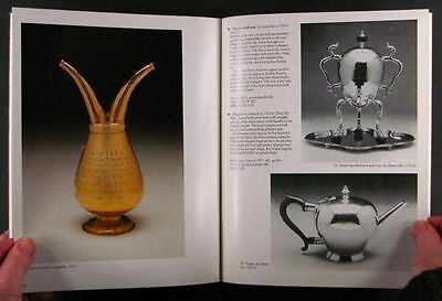 Antique Scottish Silver & Silversmiths in Edinburgh Scotland - Royal Museum 1987