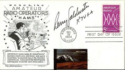 Senator BARRY GOLDWATER Signed Cover