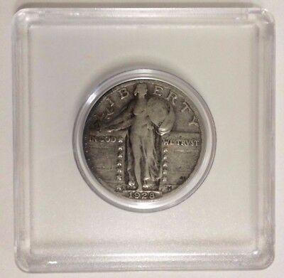 1928-S 25C Standing Liberty Quarter - Free Shipping!!!