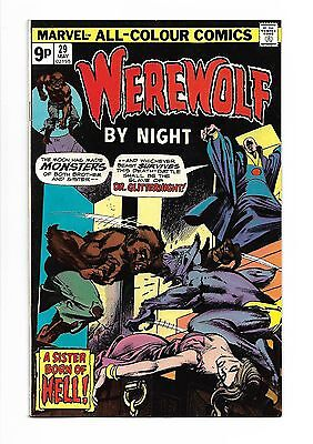 WEREWOLF BY NIGHT # 29 (MAY 1975), Marvel Comics