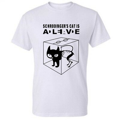 Schrodinger's Cat The Big Bang Theory T-shirt Sheldon Cooper Dead Alive