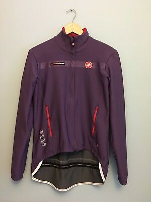 Castelli Women's Gabba Jersey Purple Size Large