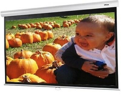 InFocus 92 inch 4 by 3 PROJECTION SCREEN Manual Pull Down Model SC WSPD 92
