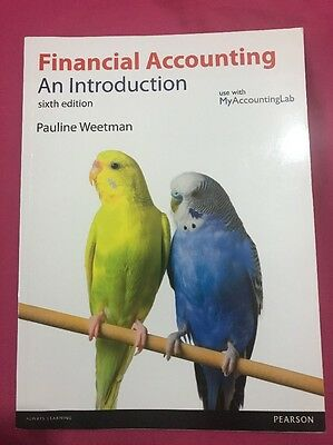 Financial Accounting An Introduction Sixth Edition (paperback, 2013)