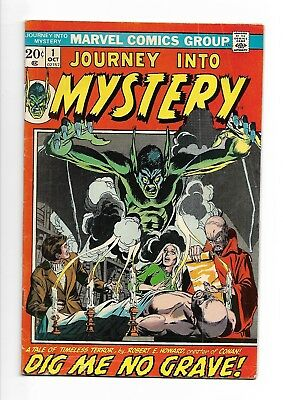 Journey Into Mystery  #1  VG+/FN-  (Vol 2) Marvel Comics