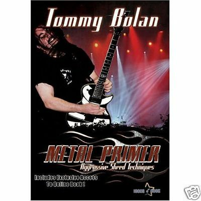 Lead Guitar Lessons Heavy Metal Shred Speed Solo Licks Scales Video New DVD