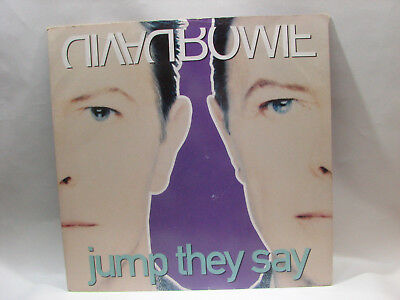 """12"""" Single EP Record David Bowie Jump They Say c.1993 plus WAV and MP3 Files"""