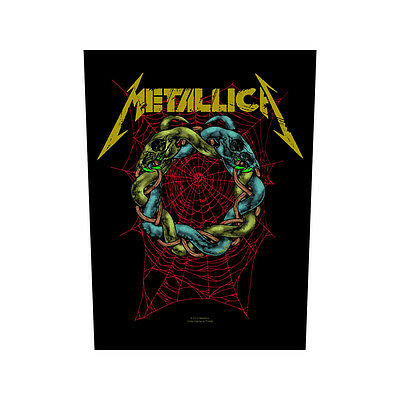 Metallica tangled web Back Patch XLG free worldwide shipping