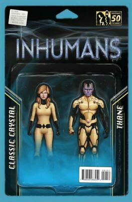 All-New Inhumans #1 Cover E Action Figure Variant VF/NM 2015 Marvel - Vault 35