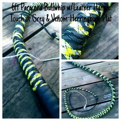 6' Paracord Bull Whip