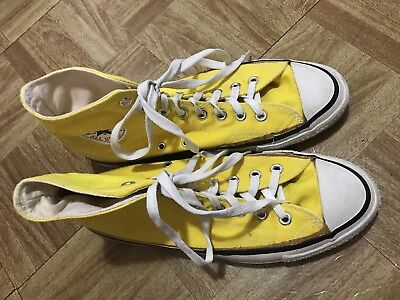 Converse Vintage All Star Chuck Taylor Made in USA Shoes sz 8.5