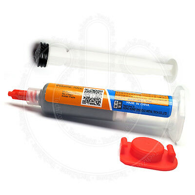 MECHANIC XG-Z40 Liquid Solder Soldering Paste 10cc Leaded SMD BGA SMT Stencil