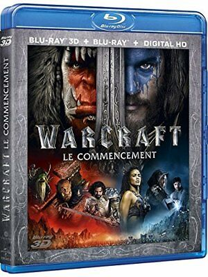 Warcraft : le commencement [Combo Blu-ray 3D + Blu-ray + Copie digitale] VF Neuf