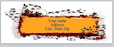 Personalized address labels Leaves Buy 3 get 1 free (xac 790)