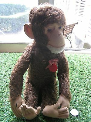 Vintage SCHUCO Tricky Singe musical Monkey Yes No Automat US Zone Germany Brahms