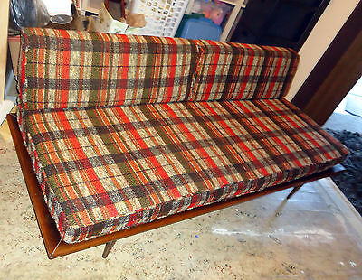 Pearsall Style Mid Century Danish Modern Daybed Couch Sofa Vintage All Original