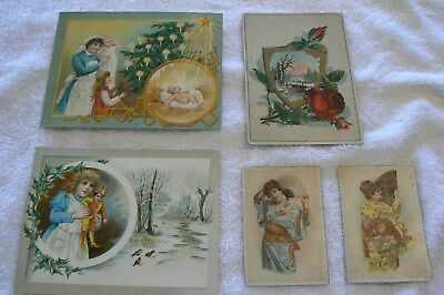 Lion Coffee Woolson Spice victorian trading cards
