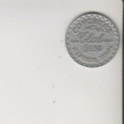 Nuevo Laredo Mexico Trade Token brothel Conchita's