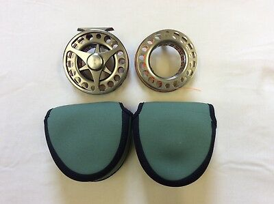 Danielsson Fly Reel and Spare Spool.