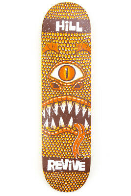 ReVive John Hill Monster Skateboard Deck 8.0  FREE JESSUP GRIP & FREE POST