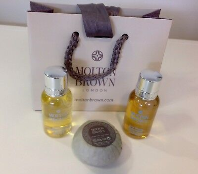Molton Brown Gift Set 2x30ml and soap 30g NEW in Gift Bag