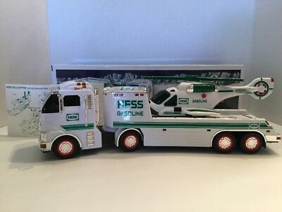 HESS 2006 Collectible TOY TRUCK & HELICOPTER w/ Box Working Lights & Sound