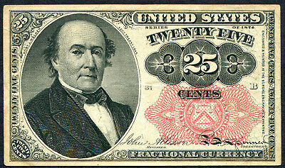 Fractional Currency 25 cents 5th Issue