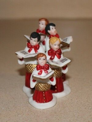 """Department 56 Accessory """"Choirboys All-In-A-Row"""" 56.58971 Heritage Village Coll."""