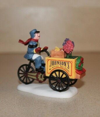 """Department 56 Accessory """"Johnson's Grocery...Holiday Deliveries"""" 56.58897 HVC"""