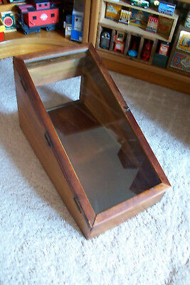 Rare Antique Wood and Glass Candy Counter Display Case.....Advertising