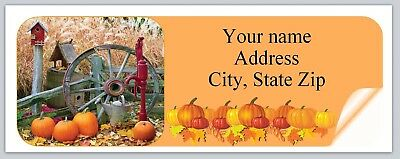Personalized address labels Fall Autumn Buy 3 get 1 free (xbo 928)