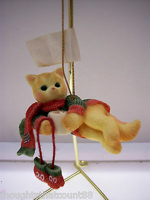 Calico Kittens COCOA Dated 2000 Ornament 720771~ NIB ** FREE FIRST CLASS SHIP