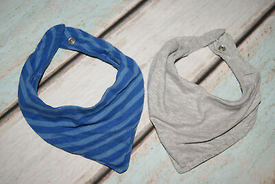 H&M Boys Set Of 2 Press Stud Fastened Scarves / Bandanas