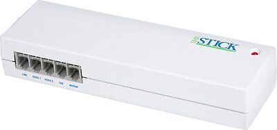 Multi-Link The Switch 4-port fax/line sharing automatic switch EXCELLENT!
