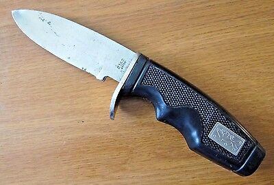 "Vintage No. 2142 Hunting Skinning 3-1/2"" Fixed Blade Knife Japan Vg"