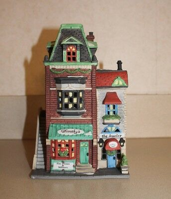 """Dept. 56 """"Dorothy's Dress Shop"""" 56.59749 Christmas in the City Series Limited Ed"""