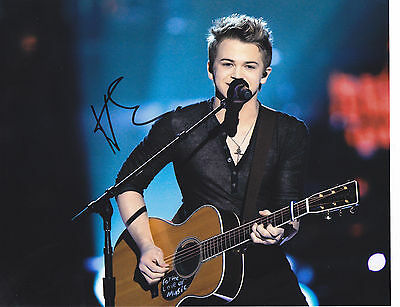 Hunter Hayes Signed Autograph Country Music 8X10 Photo Proof  I Want Crazy