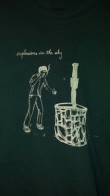 Explosions in the sky 2008 out of print T-Shirt Wishingwell Rare mens XL