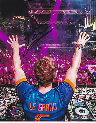 Fedde Le Grand Signed Autograph Dance Music Edm Trance 8X10 Photo Proof #2