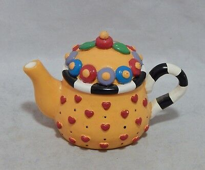 Mary Engelbreit Resin Hearts Teapot