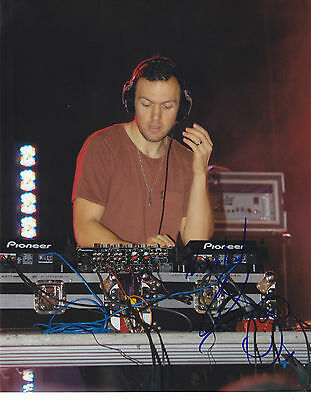 Chris Lake Signed Autographed Edm Dance 8X10 Photo Proof #2