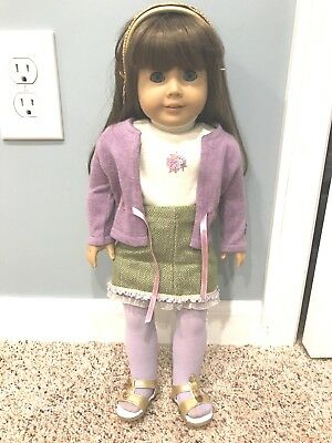 AMERICAN GIRL DOLL Look Alike Doll with retired original outfit