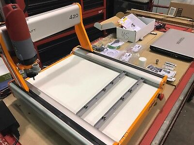 Fully loaded Stepcraft-2/420 CNC Router w/Kress 800 Spindle & Toshiba Laptop