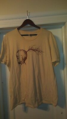 Radical Face Rare out of print T-shirt first NYC 2011 show mens XL
