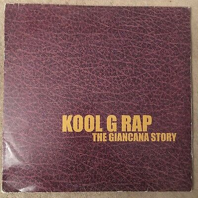 Kool G Rap - The Giancana Story 2 X LP RAWKUS HIP HOP / RAP ALBUM