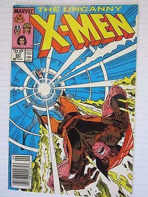 The Uncanny X-Men #221 Apr 1985, Marvel 1st Appearance of Mr. Sinister Newsstand