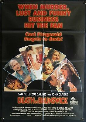 Death In Brunswick (1990) Australian One Sheet